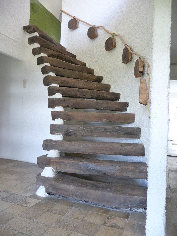 Bijzondere trap naar de eerste verdieping